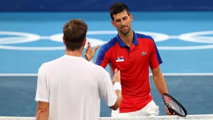 Djokovic vào vòng 3 Olympic Tokyo 2020 - Ảnh 4.