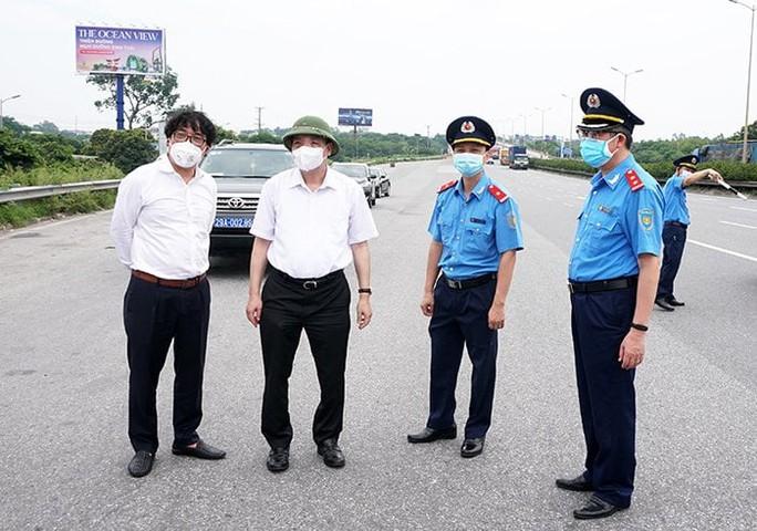 Mở tối đa luồng xanh để các xe quá cảnh qua Hà Nội nhanh nhất - Ảnh 3.