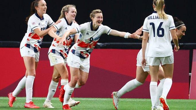 Olympic Tokyo 2020: Lộ diện các đội vào tứ kết bóng đá nữ - Ảnh 1.