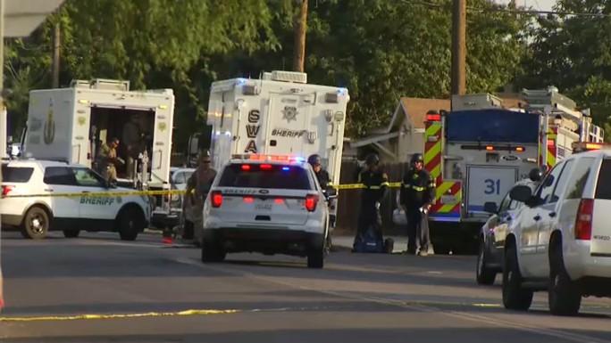 Nhiều cảnh sát trúng đạn khi giải cứu con tin ở California - Ảnh 2.