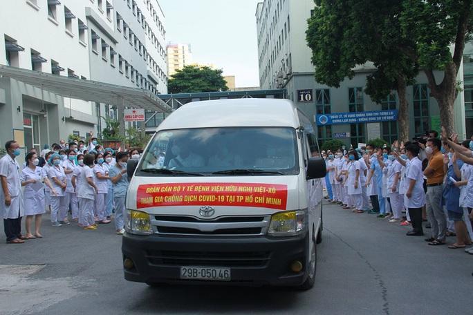Nhiều bệnh viện tuyến Trung ương cử thầy thuốc chi viện TP HCM chống dịch Covid-19 - Ảnh 2.