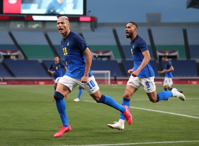 Hàn Quốc, Brazil vào tứ kết bóng đá nam Olympic Tokyo - Ảnh 3.