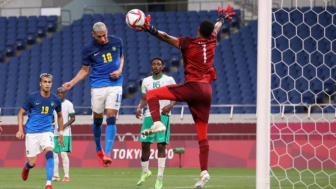 Hàn Quốc, Brazil vào tứ kết bóng đá nam Olympic Tokyo - Ảnh 1.