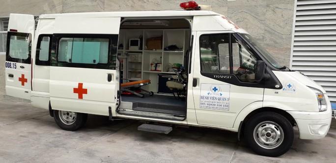 TP HCM: Tăng 100 xe cấp cứu đến khu dân cư chuyển các ca F0 - Ảnh 1.