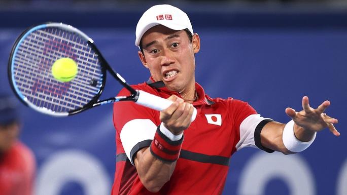 Olympic Tokyo 2020: Hạ tay vợt nước chủ nhà, Djokovic tiến gần đến danh hiệu Golden Slam - Ảnh 1.