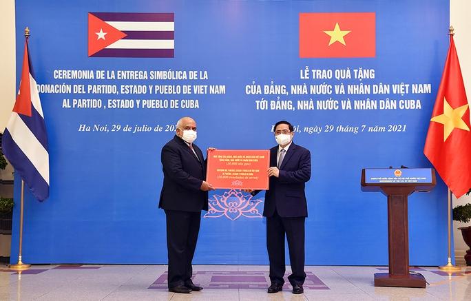 Đề nghị Cuba sớm chuyển giao công nghệ sản xuất vắc-xin phòng Covid-19 - Ảnh 3.
