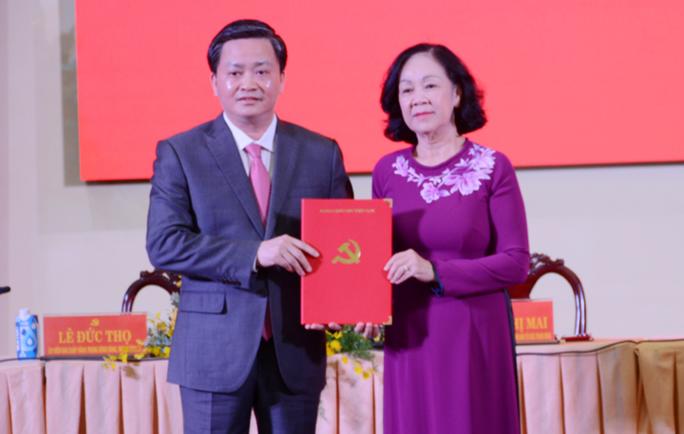Nguyên Chủ tịch HĐQT Vietinbank làm Bí thư Tỉnh ủy Bến Tre - Ảnh 1.