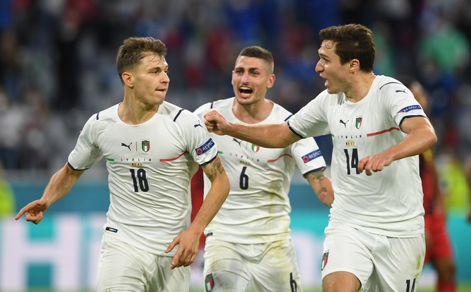 Tấn công rực lửa, Ý hạ gục đội bóng số 1 thế giới vào bán kết Euro - Ảnh 3.