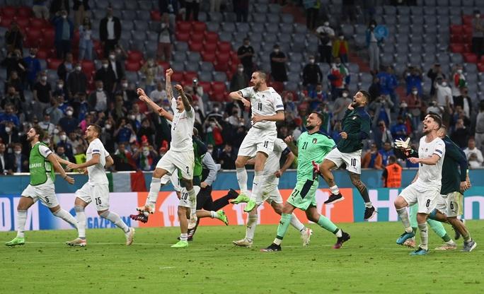 Tấn công rực lửa, Ý hạ gục đội bóng số 1 thế giới vào bán kết Euro - Ảnh 7.