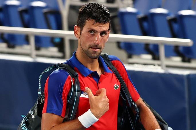 Djokovic mất danh hiệu Golden Slam sau thất bại ở Olympic Tokyo 2020 - Ảnh 8.