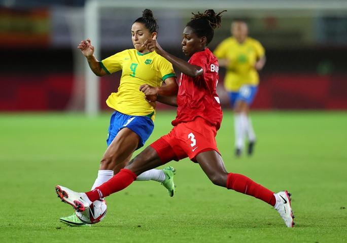 Thua luân lưu, tuyển nữ Brazil dừng bước ở tứ kết Olympic 2020 - Ảnh 3.