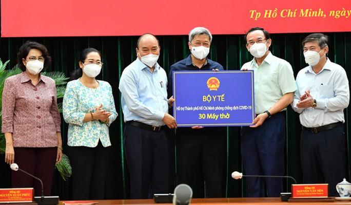Chủ tịch nước Nguyễn Xuân Phúc nói về việc phòng, chống dịch Covid-19 ở TP HCM - Ảnh 2.