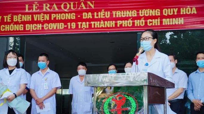 32 nhân viên y tế ở Bình Định lên đường chi viện cho miền Nam chống dịch - Ảnh 1.