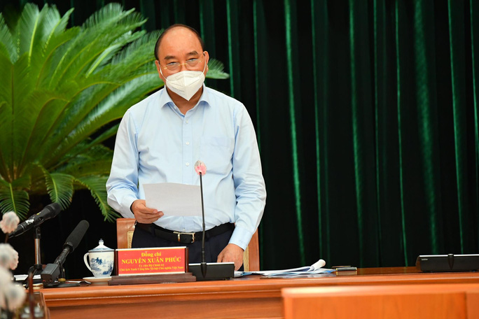 Chủ tịch nước Nguyễn Xuân Phúc nói về việc phòng, chống dịch Covid-19 ở TP HCM - Ảnh 1.