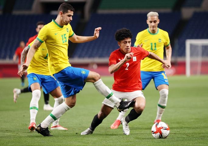 Brazil, Tây Ban Nha vất vả vào bán kết Olympic Tokyo 2020 - Ảnh 3.