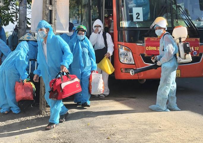 Quảng Ngãi: Tiếp tục đón 244 người dân về từ TP HCM - Ảnh 1.