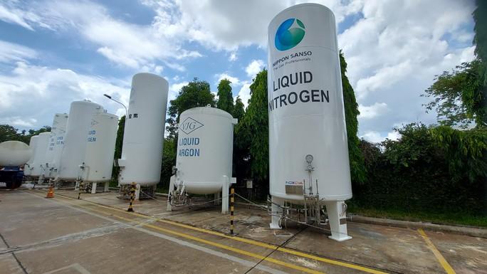 Cận cảnh nhà máy sản xuất ôxy cung cấp cho điều trị bệnh - Ảnh 4.