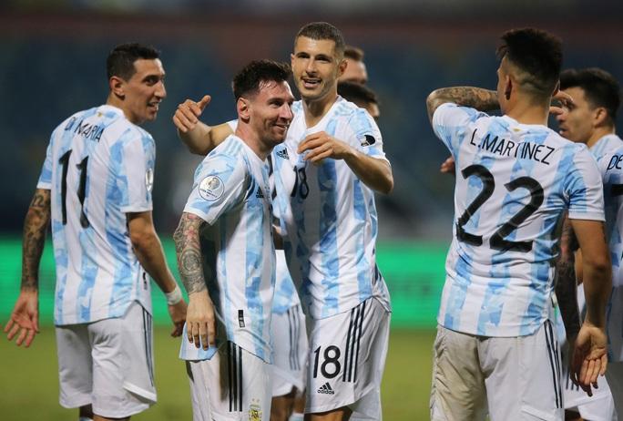 Messi trình diễn siêu hạng, Argentina hạ Ecuador vào bán kết Copa America - Ảnh 8.