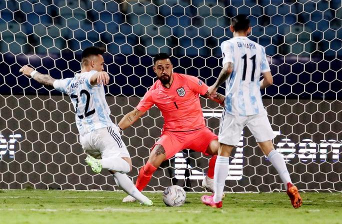Messi trình diễn siêu hạng, Argentina hạ Ecuador vào bán kết Copa America - Ảnh 5.