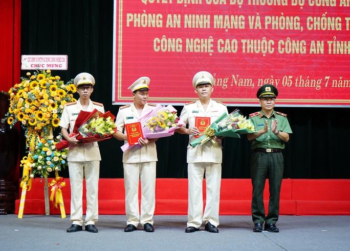 Công an Quảng Nam ra mắt phòng an ninh mạng - Ảnh 1.