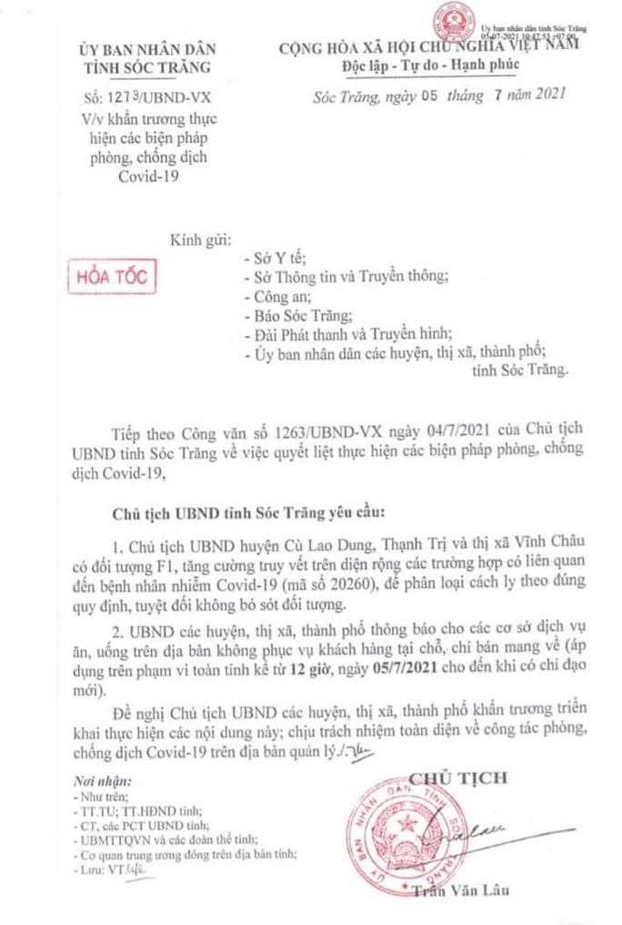 ĐBSCL: Giãn cách toàn TP Châu Đốc, nhiều nơi chỉ đạo khẩn về Covid-19 - Ảnh 6.