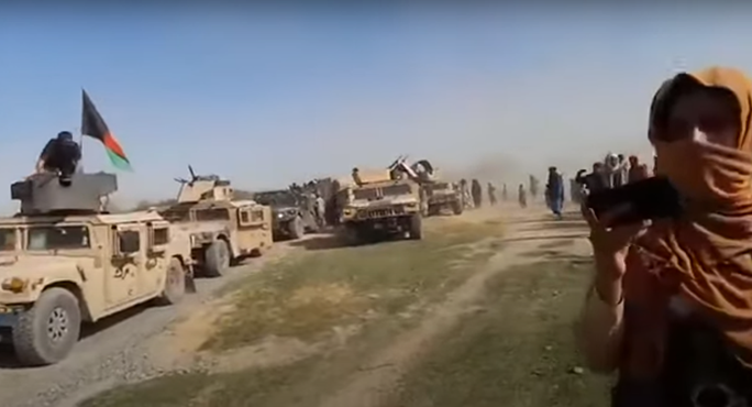 Xe quân sự Mỹ rơi vào tay Taliban với tỷ lệ đáng báo động - Ảnh 1.