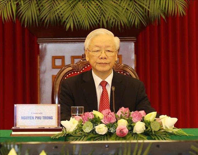 Tổng Bí thư dự Hội nghị thượng đỉnh giữa Đảng Cộng sản Trung Quốc với các chính đảng - Ảnh 2.