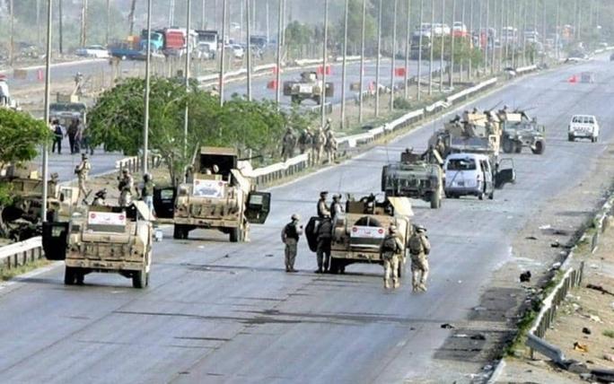 Sau loạt tấn công bằng UAV, thủ lĩnh dân quân Iraq đưa ra lời thề máu - Ảnh 1.