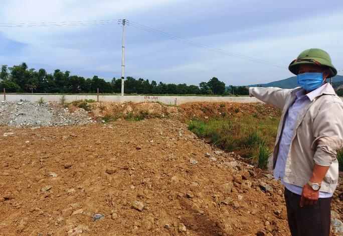 UBND huyện cấp rồi lại thu hồi quyết định cấp đất cho hộ dân - Ảnh 1.