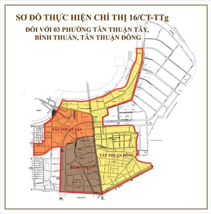 TP HCM: Chuẩn bị phong tỏa một số khu vực ở quận 7 với hơn 91.000 nhân khẩu - Ảnh 1.