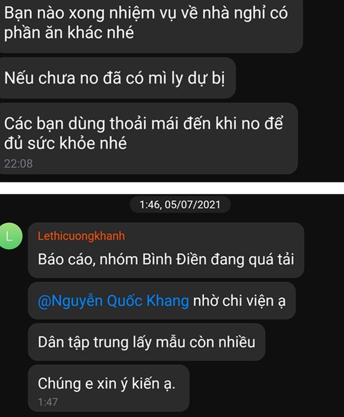 Những dòng tin nhắn lúc nửa đêm của y bác sĩ Bệnh viện Chợ Rẫy - Ảnh 2.