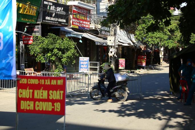 Thôn Kênh Đào (huyện Mỹ Đức, Hà Nội) đang bị phong toả do liên quan đến nhiều ca Covid-19