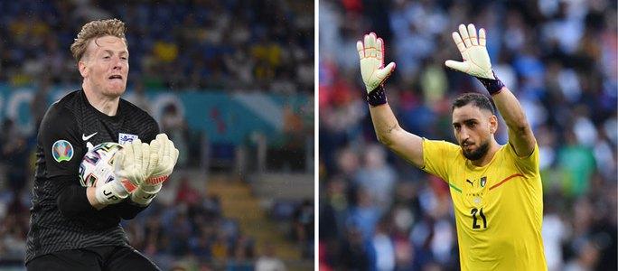 Thủ môn xuất sắc nhất Euro 2020: Pickford hay Donnarumma? - Ảnh 1.