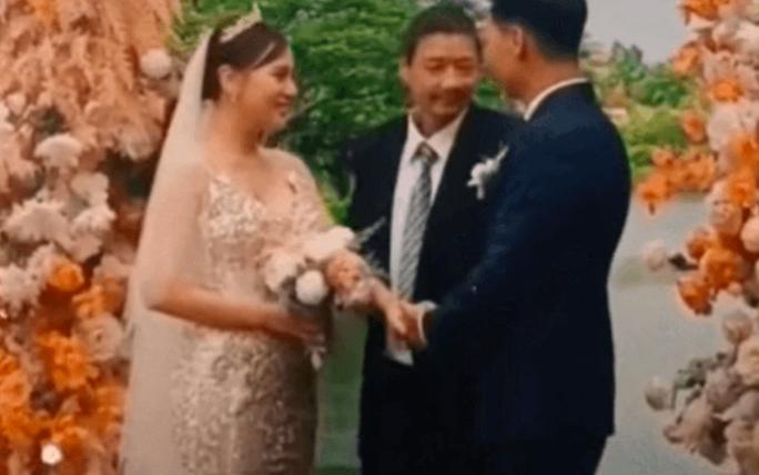 Hương vị tình thân lộ clip đám cưới Long - Nam, nhiều khán giả thất vọng - Ảnh 1.