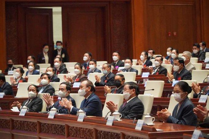 Chủ tịch nước Nguyễn Xuân Phúc phát biểu tại Kỳ họp Quốc hội Lào - Ảnh 2.