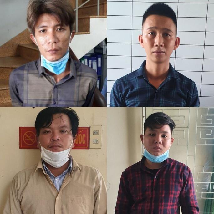 Hàng chục đối tượng ở Tiền Giang mang hung khí diễu hành giữa ban ngày - Ảnh 4.
