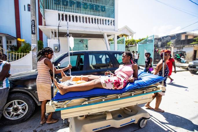 Haiti họa liên tiếp, bão biển nối đuôi động đất mạnh  - Ảnh 3.