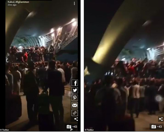 Tấm ảnh hơn vạn lời nói: Hơn 600 người Afghanistan nhồi nhét trong máy bay Mỹ - Ảnh 4.
