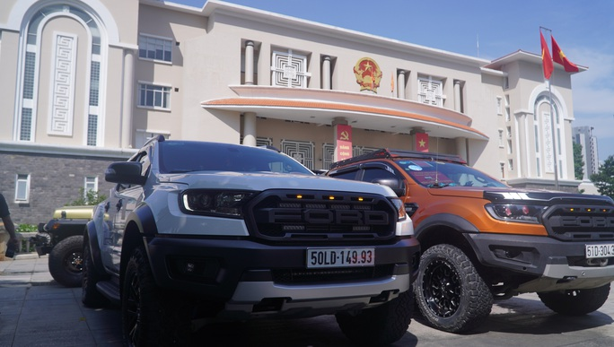 TP Thủ Đức: Ra mắt đội xe tình nguyện phục vụ an sinh xã hội phòng chống Covid-19 - Ảnh 3.