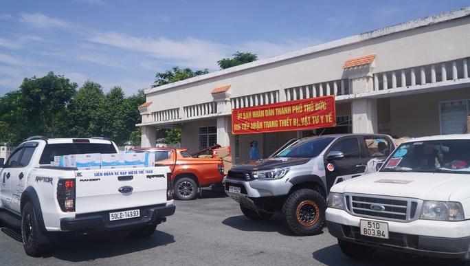 TP Thủ Đức: Ra mắt đội xe tình nguyện phục vụ an sinh xã hội phòng chống Covid-19 - Ảnh 4.