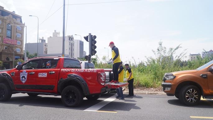 TP Thủ Đức: Ra mắt đội xe tình nguyện phục vụ an sinh xã hội phòng chống Covid-19 - Ảnh 7.