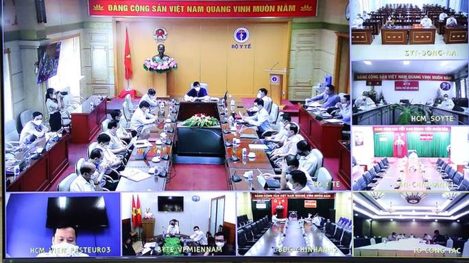 Bộ Y tế họp khẩn với TP HCM và 3 tỉnh khác về thiết lập trạm y tế lưu động - Ảnh 1.