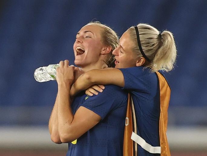 Thua Thụy Điển, tuyển nữ Úc mất vé dự chung kết Olympic 2020 - Ảnh 7.