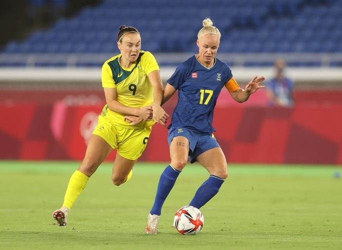 Thua Thụy Điển, tuyển nữ Úc mất vé dự chung kết Olympic 2020 - Ảnh 1.