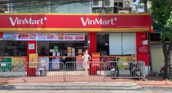 Danh sách 8 siêu thị và 15 cửa hàng VinMart/VinMart+ liên quan đến các ca F0 - Ảnh 1.