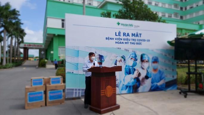 Bệnh viện tư nhân đầu tiên tại TP HCM chuyển đổi toàn bộ làm nơi điều trị Covid-19 - Ảnh 2.