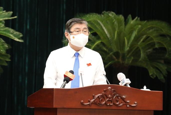 Phát biểu chia tay TP HCM của ông Nguyễn Thành Phong - Ảnh 1.