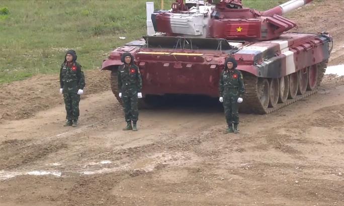 Army Games 2021: Việt Nam tiếp tục đua xe tăng, chắc suất chung kết công binh - Ảnh 1.