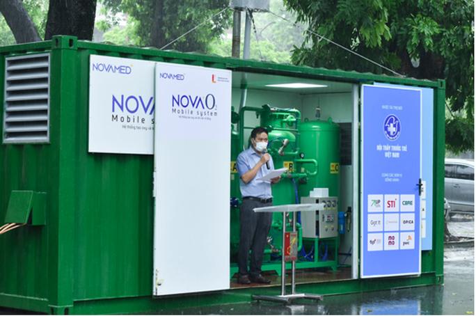 Thử nghiệm hệ thống cung cấp oxy cho trạm hồi sức cấp cứu dã chiến  ở Đồng Nai và Bình Dương - Ảnh 1.