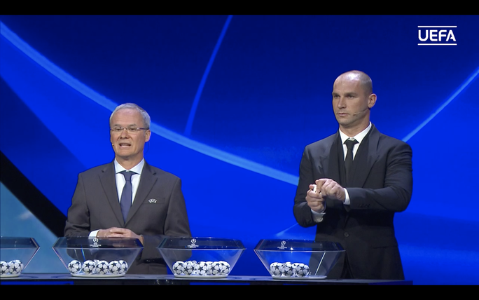 Bốc thăm Champions League: Man City đại chiến PSG, Man United tái ngộ Villarreal - Ảnh 1.